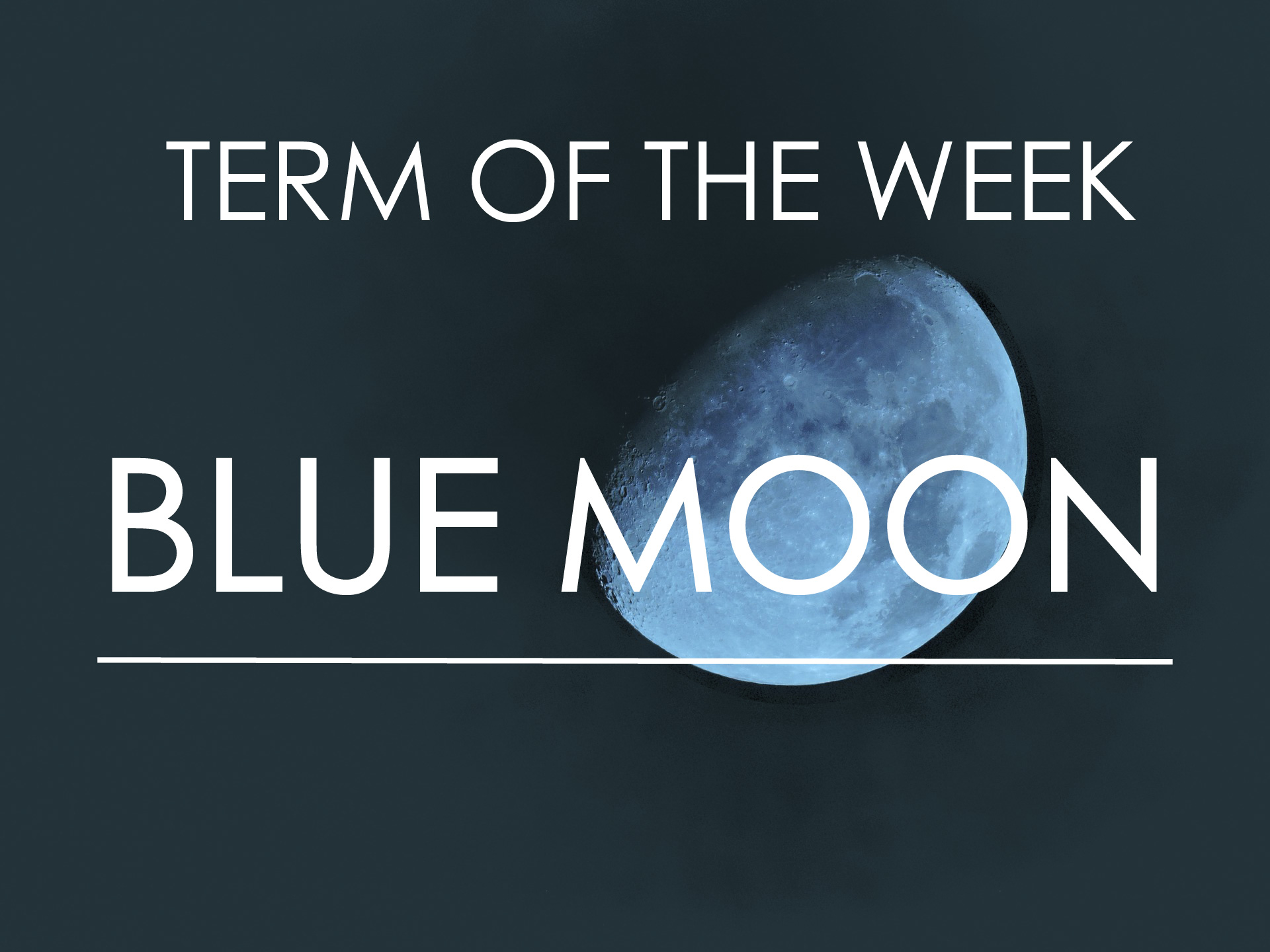 Idioms and sayings with moon   blue moon   learn English   Maka