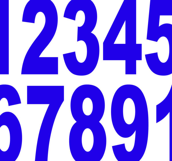Numbers in English course